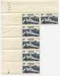 SIX TIMBRES FRANCE 1948 -N° 819** NEUFS BORD DE FEUILLE