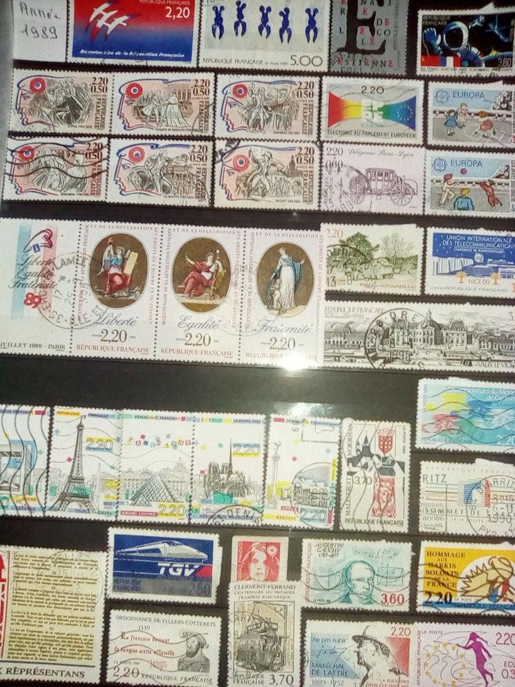 Timbres France 1989 8 Bersée (59)