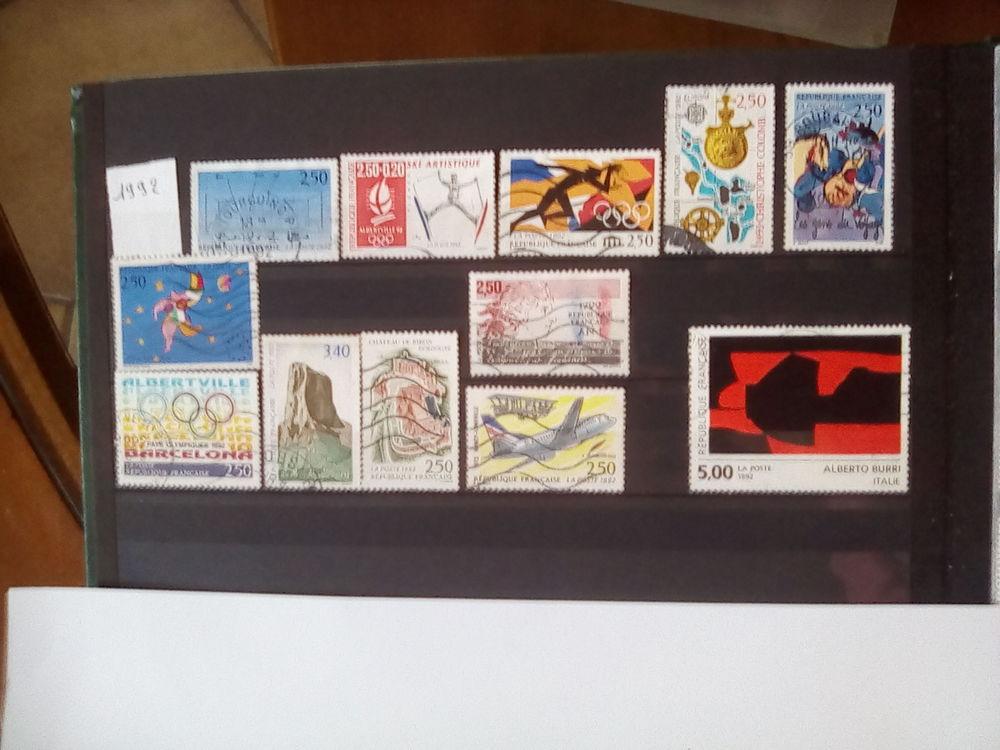 Timbres France 1992 , 1993 1 Bersée (59)
