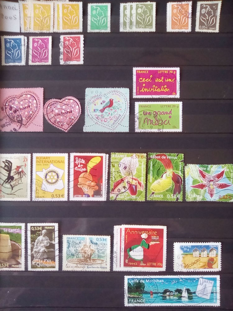 Timbres France 2005