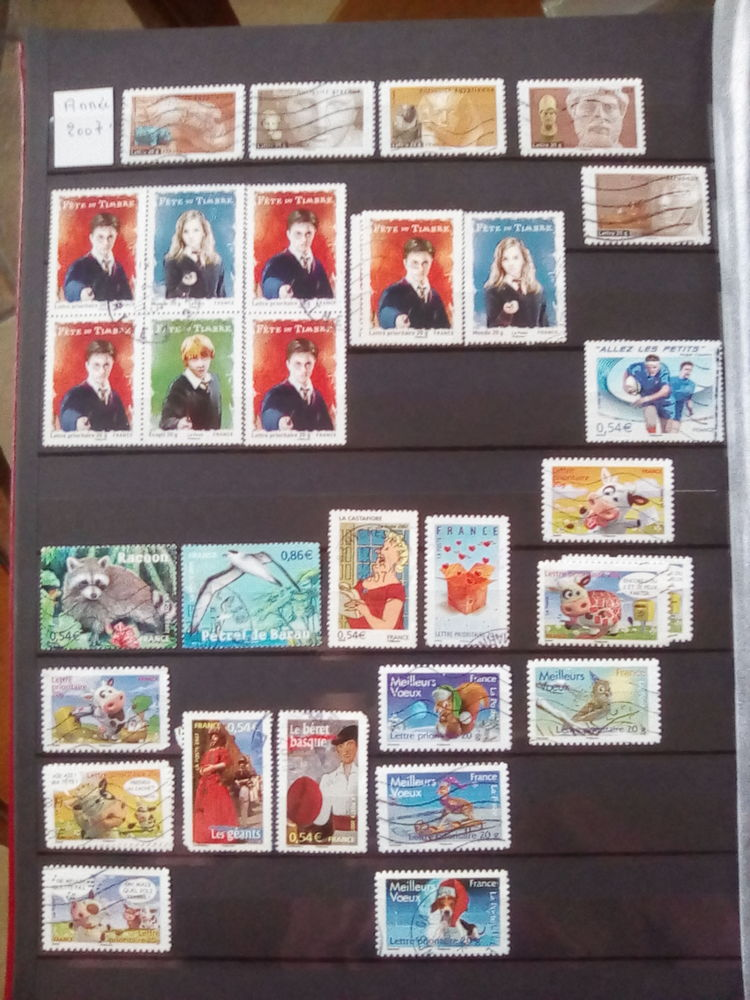 Timbres France 2007