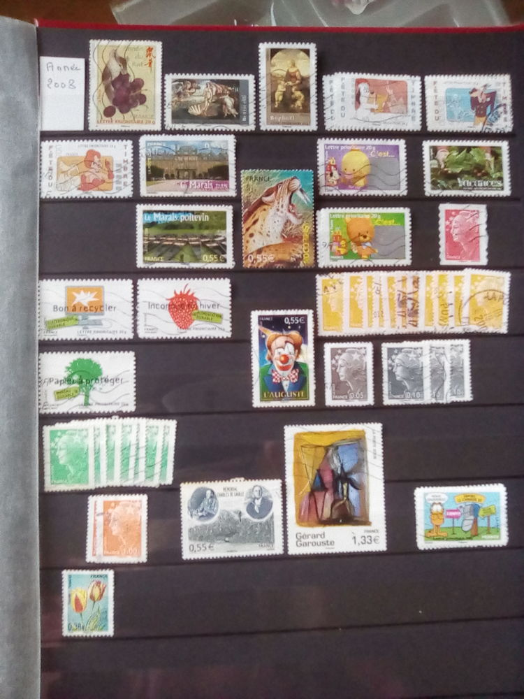Timbres France 2008