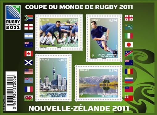 Timbres France Feuilles 4576 / 4581 et 4582    2011 27 Périgueux (24)