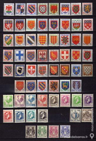 Lot de 183 timbres France NEUFS** 10 La Seyne-sur-Mer (83)