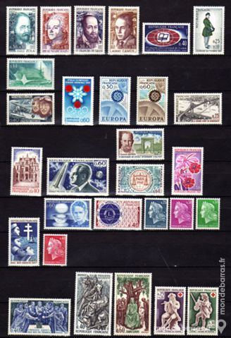 LOT N° 23 - Timbres France NEUFS** an 1967 5 La Seyne-sur-Mer (83)
