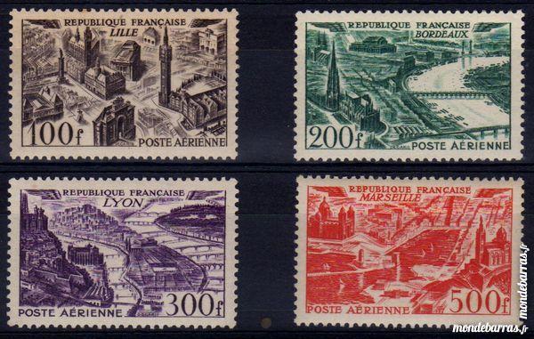 Timbres France NEUFS** N° 24 à 27 POSTE AERIENNE 38 La Seyne-sur-Mer (83)