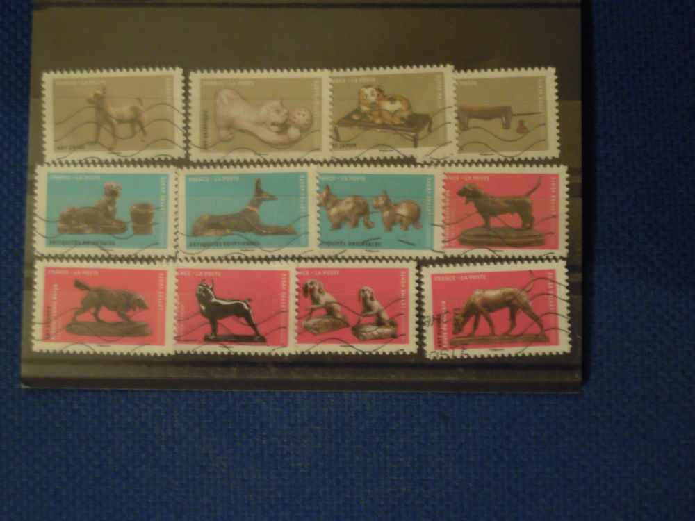 LOT 60 TIMBRES FRANCE OBLITERES AUTO ADHESIFS 2 Andernos-les-Bains (33)