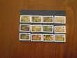 LOT 65 TIMBRES FRANCE OBLITERES AUTO ADHESIFS
