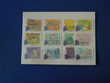 LOT 32 TIMBRES FRANCE OBLITERES AUTO ADHESIFS