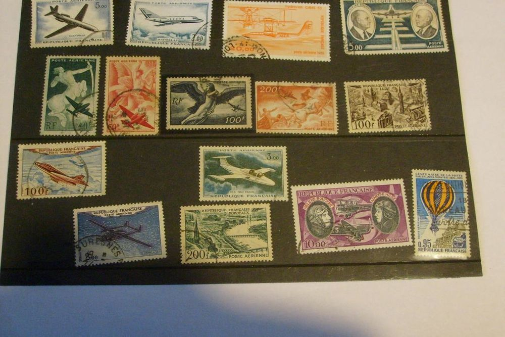 TIMBRES FRANCE POSTE AEERIENNE 3 Grand-Fayt (59)