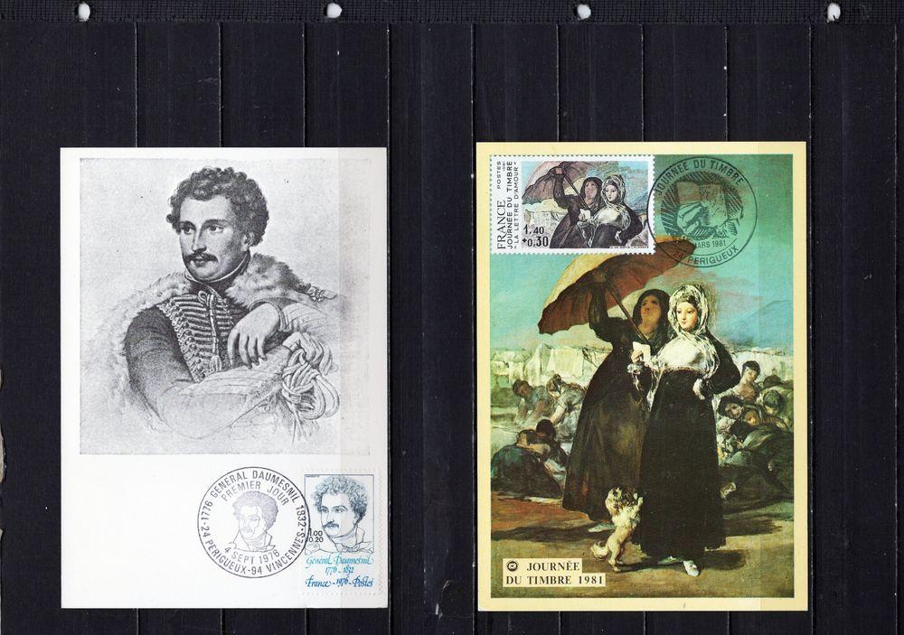 lot de 88 timbres de FRANCE 6 Les Églisottes-et-Chalaures (33)