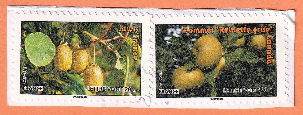Timbres Fruits 0 Lille (59)