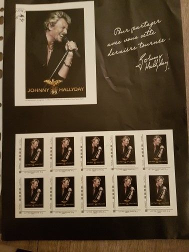 10 timbres Johnny 500 Toulon (83)