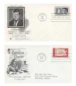 Lot timbres USA 6 Lettres États-Unis 4 Berre-l'Étang (13)