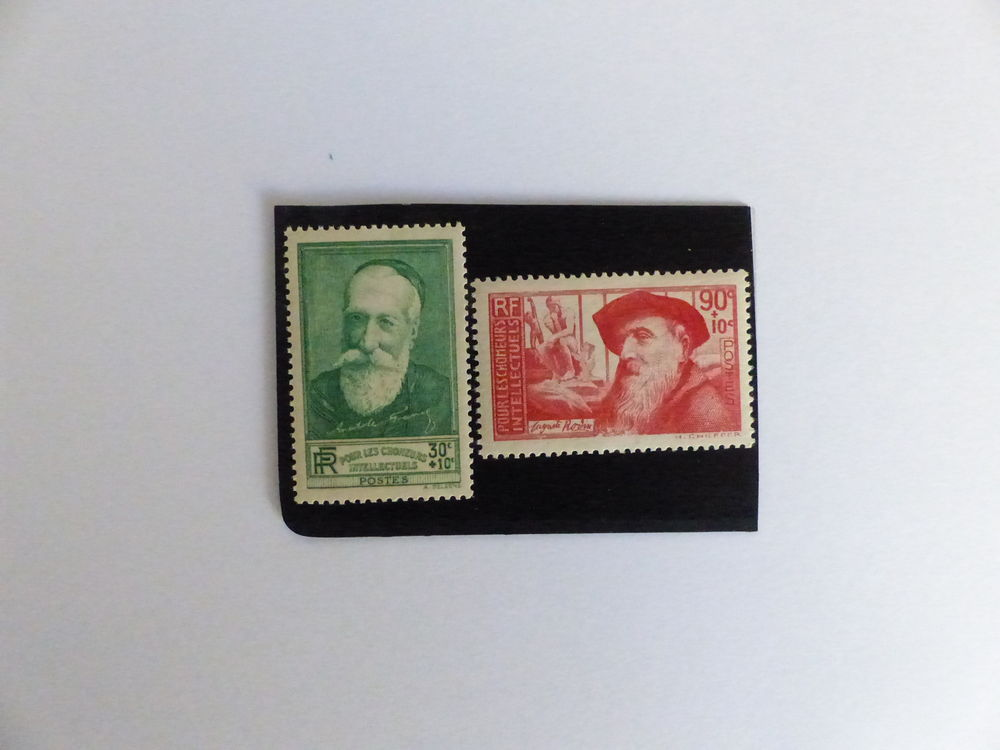 TIMBRES 343 / 344 NEUFS ** COTE 21 €
