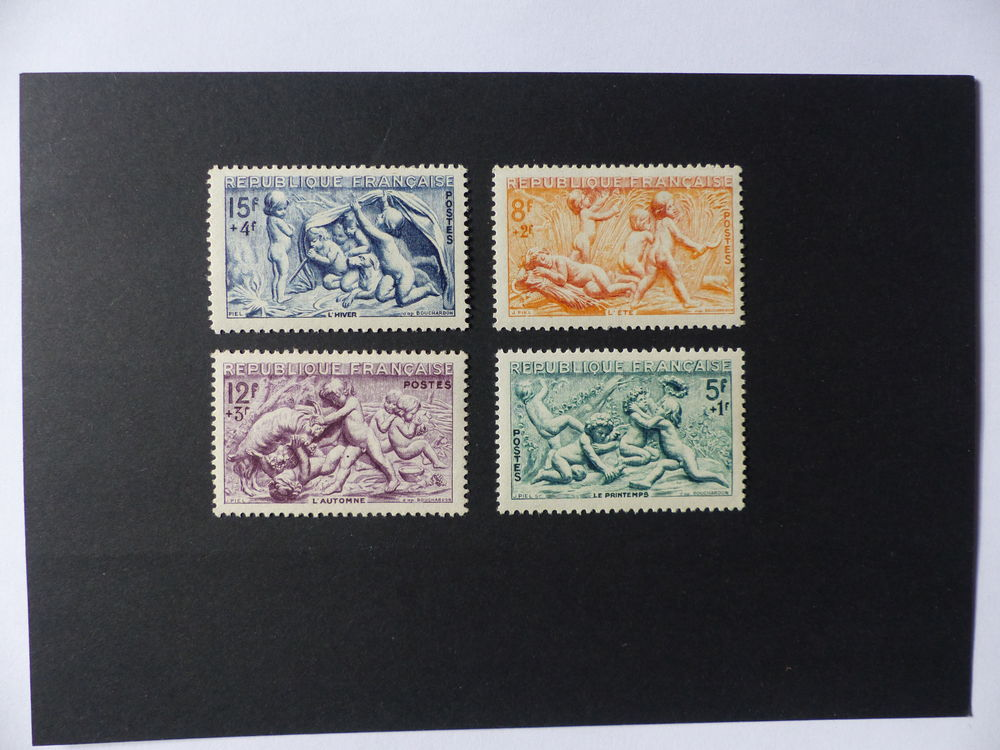 TIMBRES  859 / .862  NEUFS  ** 2 Le Havre (76)