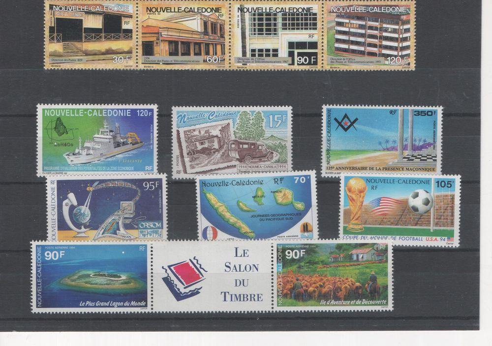Timbres Nouvelle Caledonie 110 La Farlède (83)