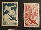 Timbres PA16 et 17 neufs 1 Joué-lès-Tours (37)