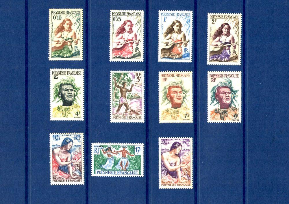 Timbres de Polynésie 1 Manosque (04)