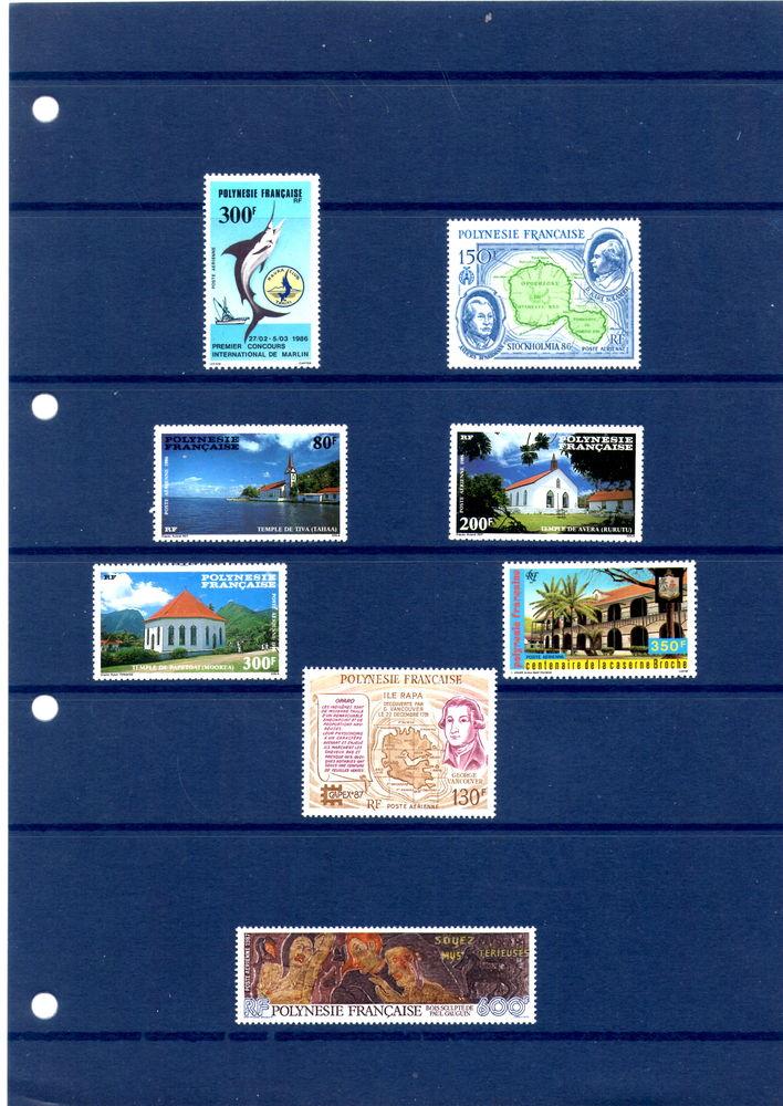 Timbres PA dd Polynésie 1 Manosque (04)