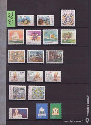 Timbres Portugal neufs Lot de 21timbres année 1982 13 Joué-lès-Tours (37)
