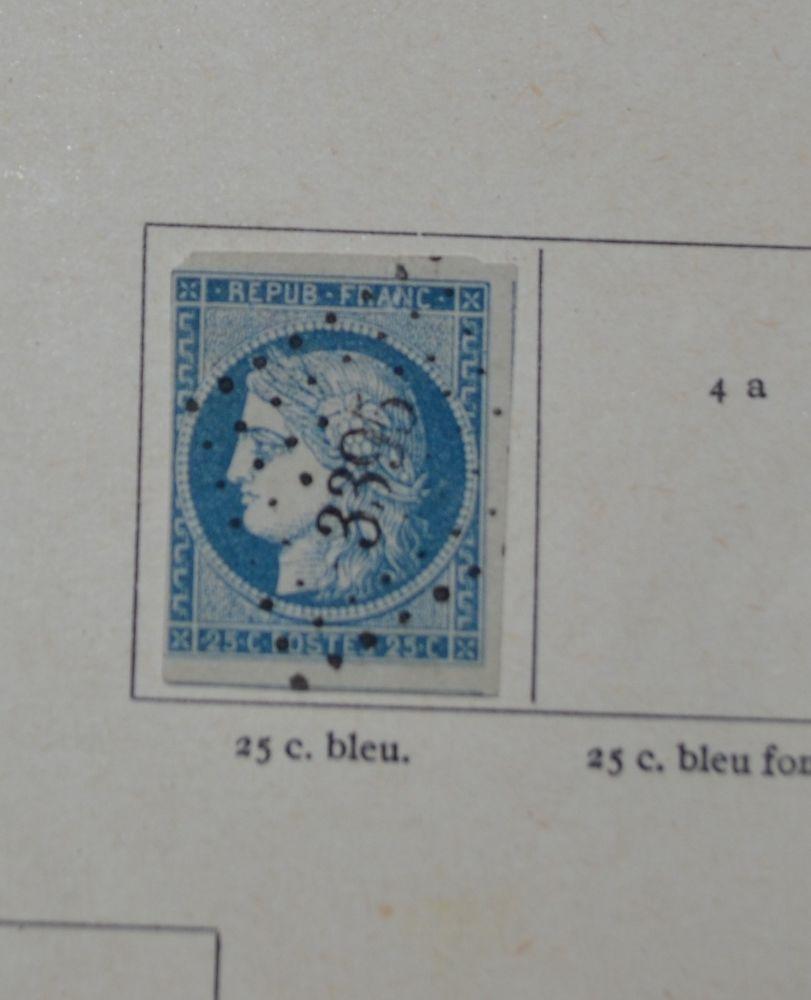 timbres poste france oblitérés de 1849 à 1900 0 Flogny-la-Chapelle (89)