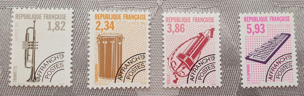 Timbres Préos 228 à 231 neufs u à 75% faciale 2 Joué-lès-Tours (37)
