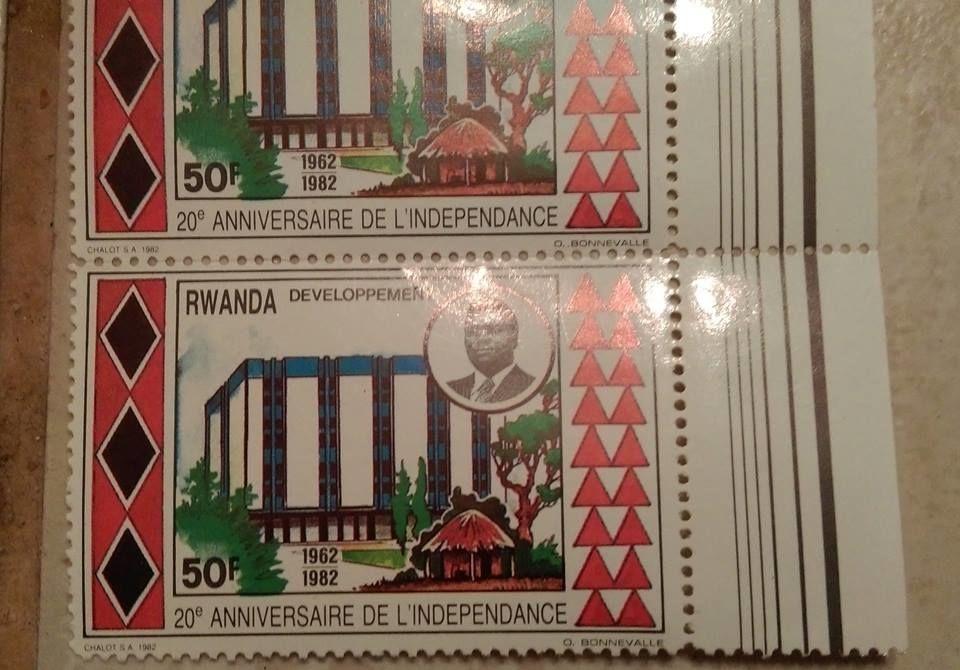 Timbres du Rwanda 1990 neuf série 0.60 euros l'unité 0 Marseille 9 (13)