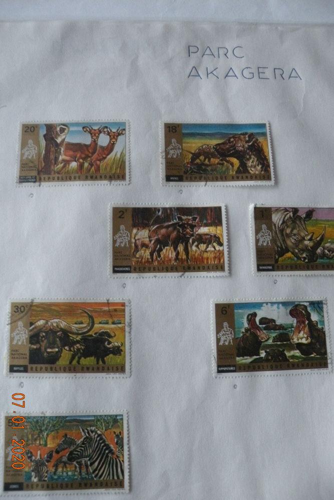 280 timbres Rwanda 65 Leers (59)