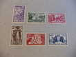 timbres  serie  coloniale  niger  n  57  a  62  neufs