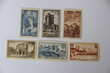 TIMBRES  SERIE  388 / 393
