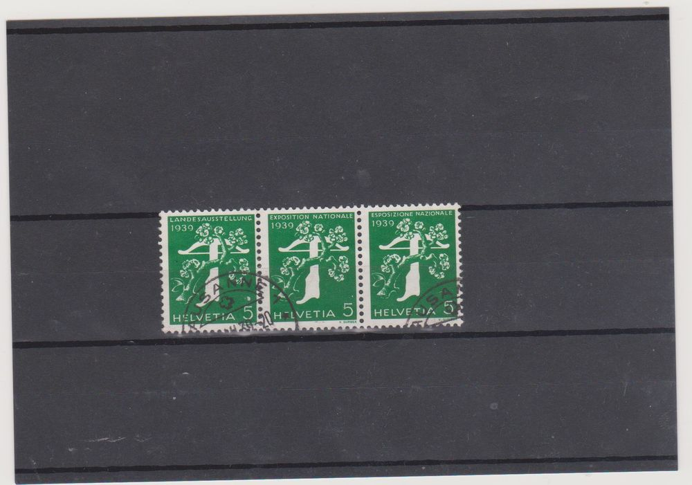 timbres  suisse 4 Pia (66)