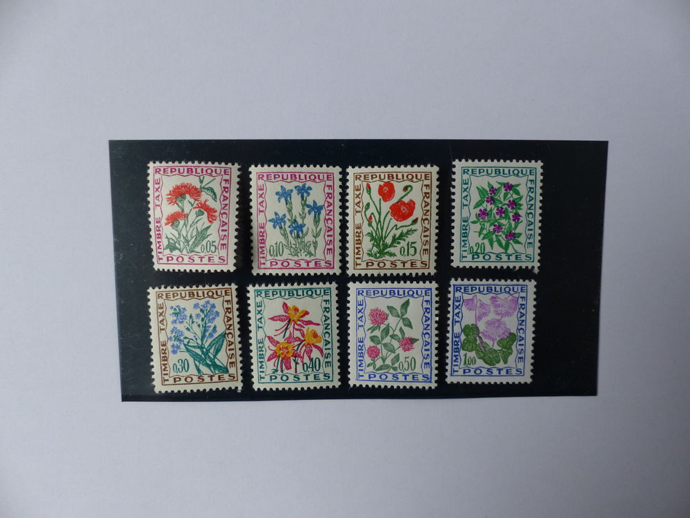 TIMBRES  TAXE  95 / 102  NEUFS 1 Le Havre (76)