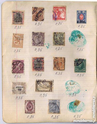 Lot de timbres de tous les pays de 1860 à 1920 200 Carrières-sur-Seine (78)