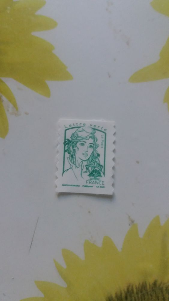 timbres verts à 0,15 cts 0 Miribel (01)