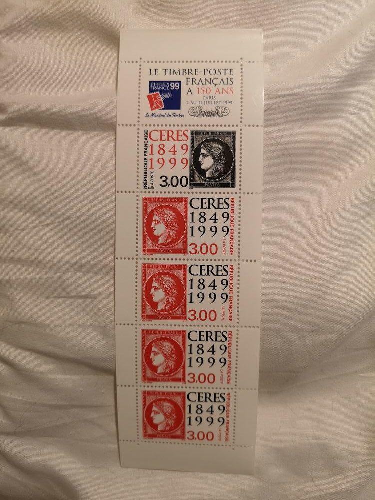 timbres yvert 3211 et 3212 bande complète  2 Langlade (30)