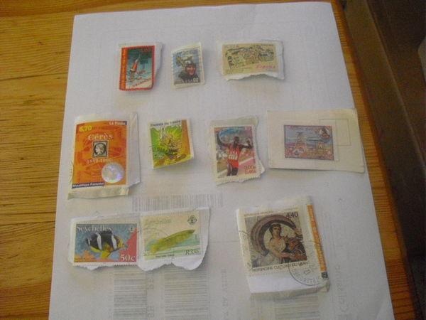 timbres lot de 10 4 Lyon 5 (69)