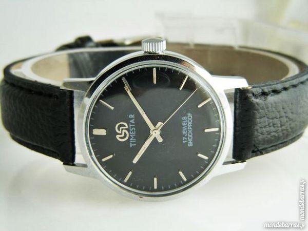 TIMESTAR P62A montre mécanique 17 rubis TIM0006 75 Metz (57)