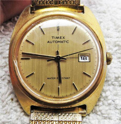 TIMEX 678 montre automatique 1970 TIX0019 Bijoux et montres