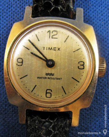 TIMEX montre mécanique dame 1970 TIX0007 55 Metz (57)