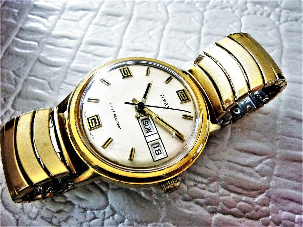 TIMEX montre mécanique homme 1980 TIM1008 130 Metz (57)