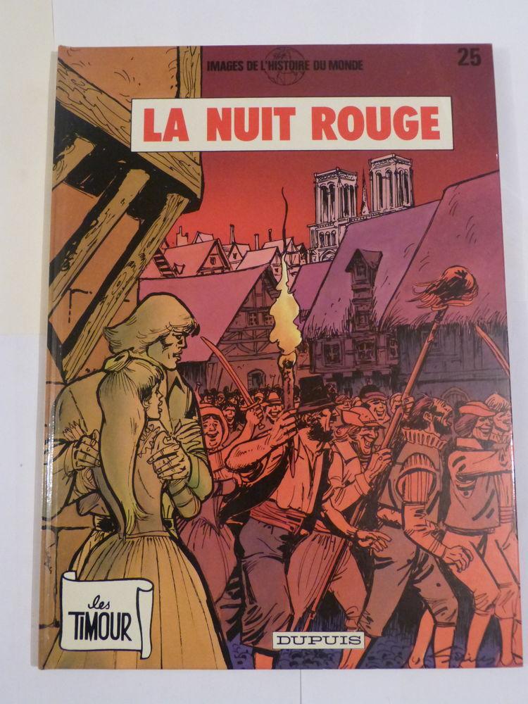 BD TIMOUR N° 25 LA NUIT ROUGE  édition originale 11 Brest (29)