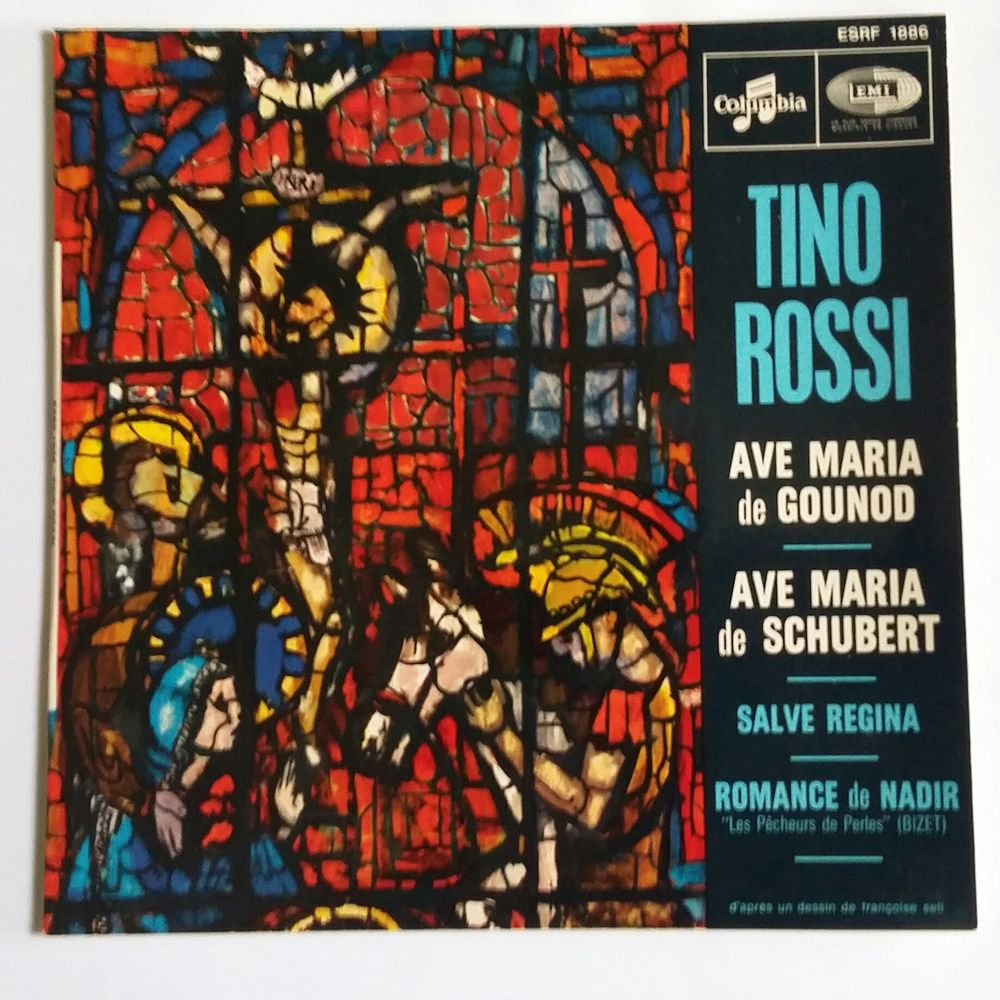 Tino Rossi : Vinyle : 45 tours : 4 titres 5 Limoges (87)
