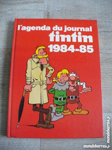 Tintin - Agenda du journal Tintin 1984 - 1985 8 Conflans-Sainte-Honorine (78)