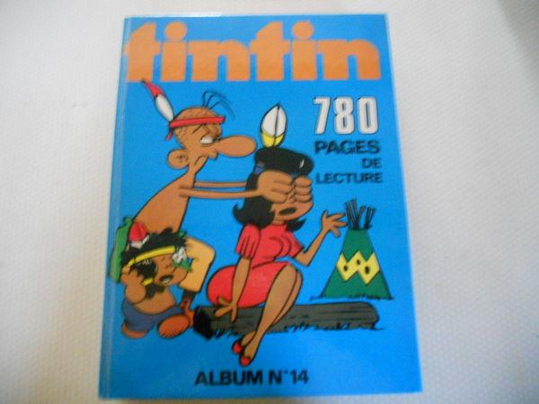 TINTIN album N14 de 1975 etat neuf 45 Sens (89)