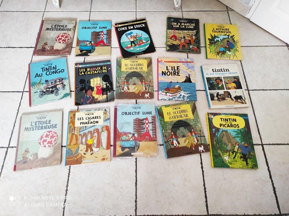 Lot de Tintin des années 60 à 80 en bon ou en moyen état 5 Méry-sur-Oise (95)