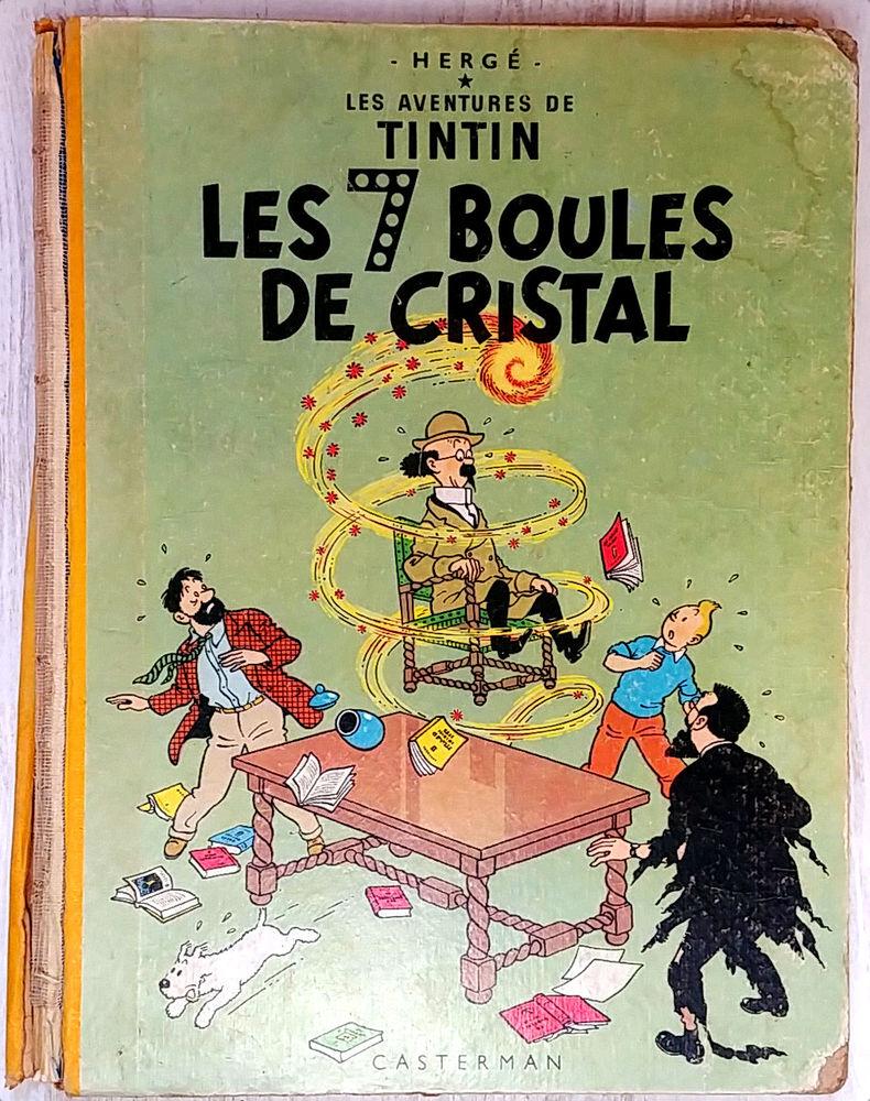 BD Tintin Les 7 boules de cristal 40 Paris 11 (75)
