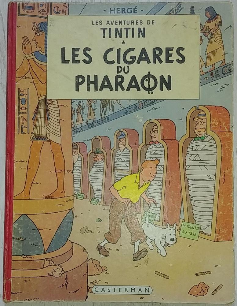 BD Tintin Les Cigares du Pharaon 250 Paris 11 (75)