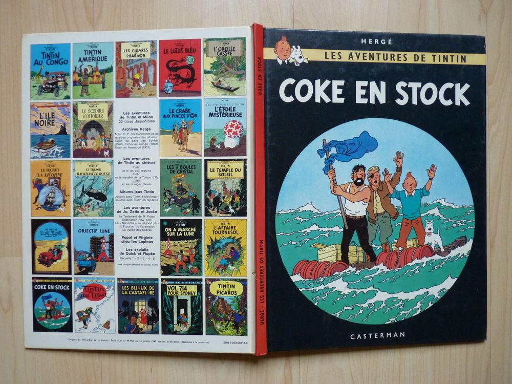 BD TINTIN Coke en Stock édition 1967 15 Saint-Pargoire (34)