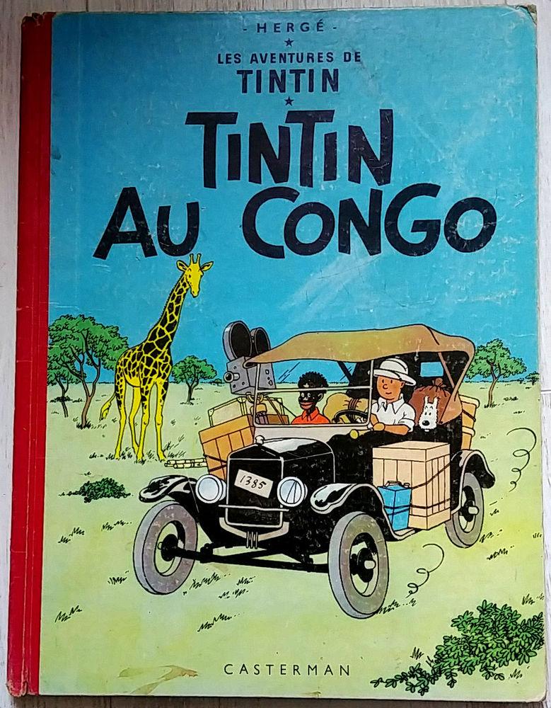 BD Tintin au Congo 90 Paris 11 (75)